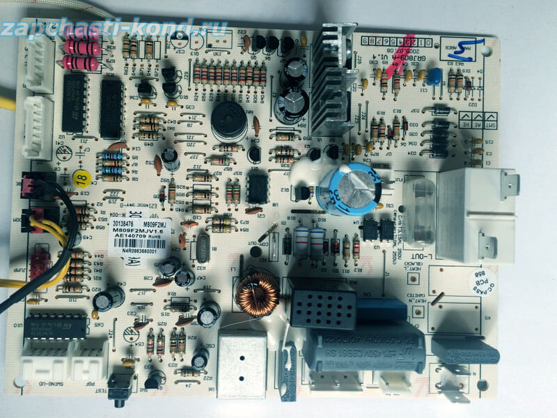 Модуль управления кондиционером 30138476 (M809F2MJV1.6)