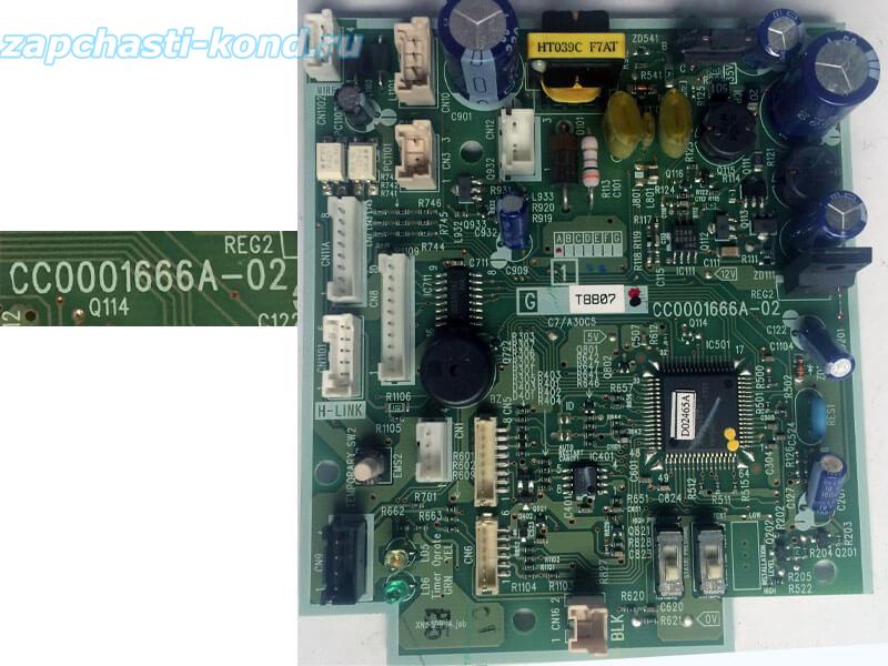Модуль управления кондиционером CC0001666A-02