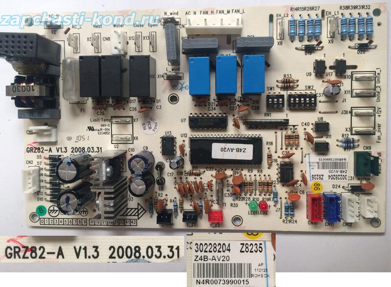 Плата управления кондиционером GRZ82-A