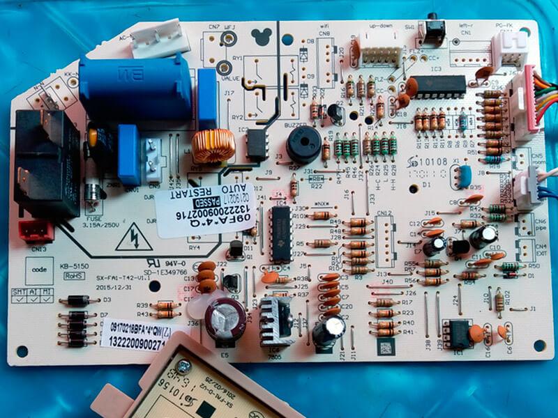 Модуль управления кондиционером (13222009002807) SX-FA1-T42-V1.1