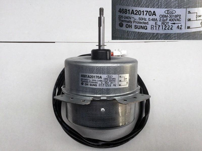 Двигатель (мотор) кондиционера 4681A20170A (OBM-301P2)