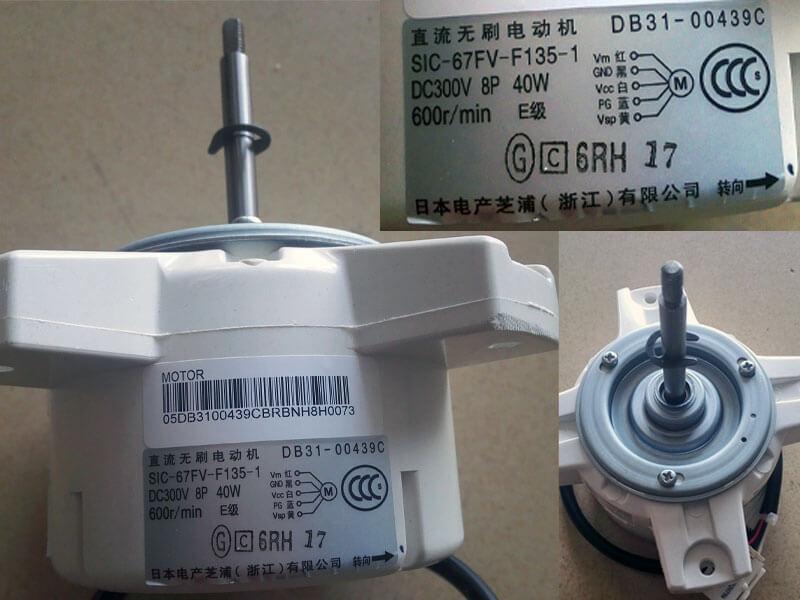 Двигатель (мотор) кондиционера SIC-67FV-F135-1 (DB31-00439C)