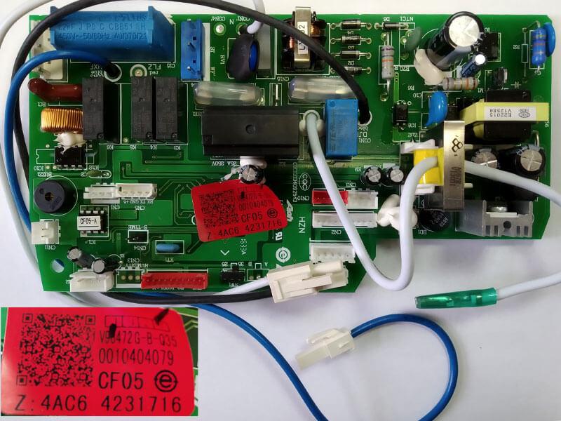 Модуль управления кондиционером A0010404079