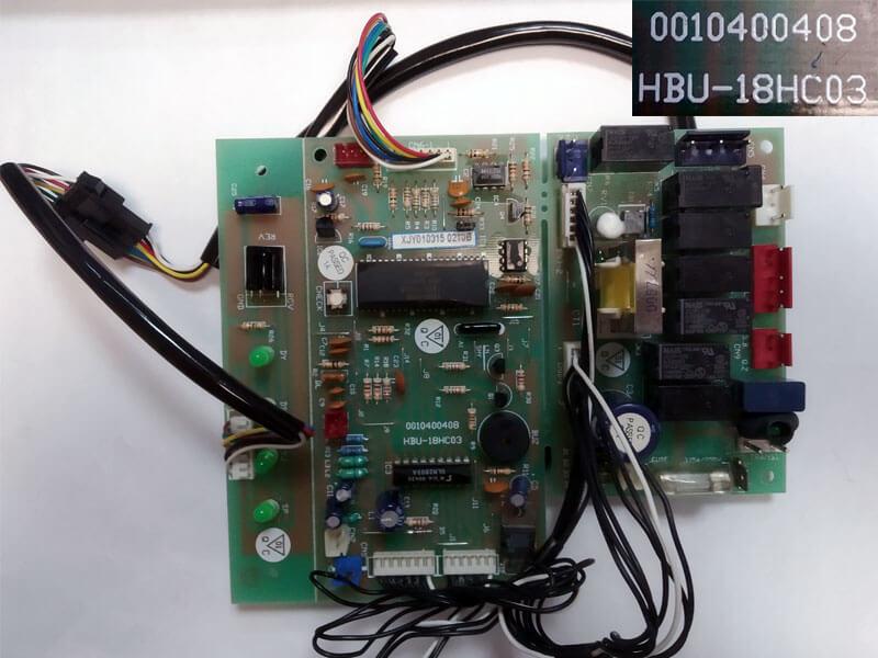 Плата управления кондиционером HBU-18HC03 0010400408