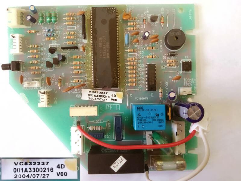 Плата управления кондиционером 001A3300216