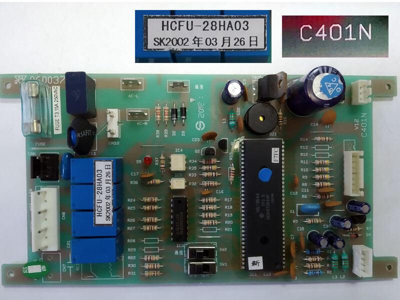 Модуль управления кондиционером C401N 0600374