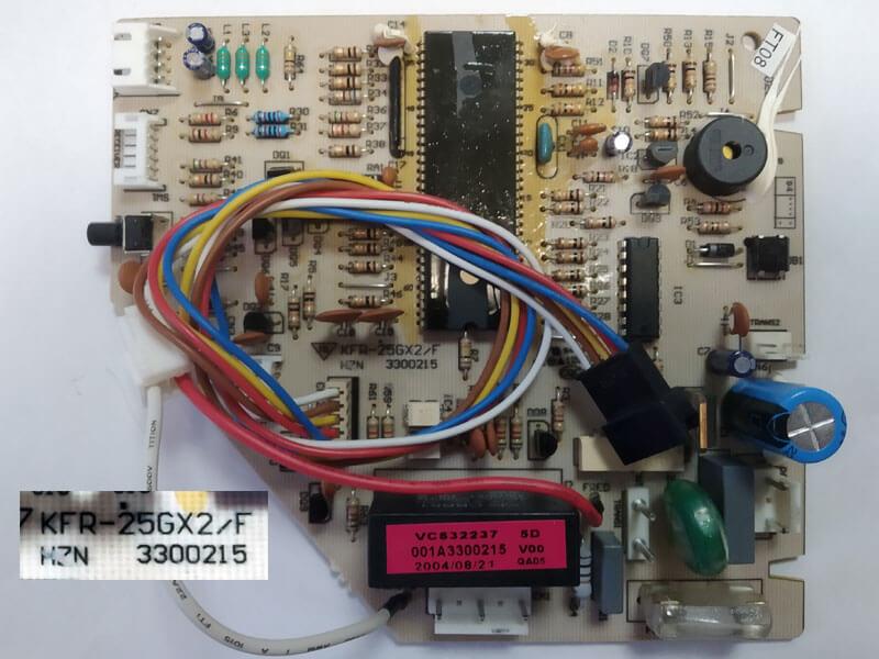 Плата управления кондиционером KFR-25GX2/F