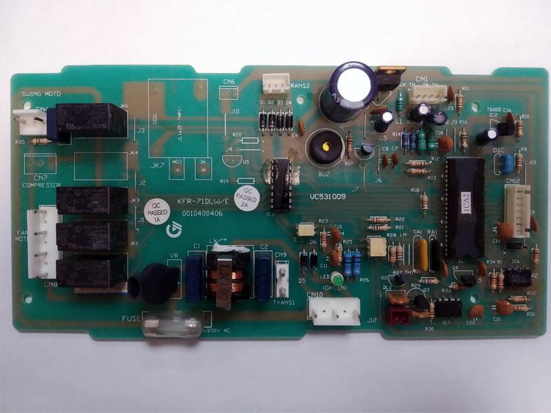 Плата управления кондиционером KFR-71DLW/E 0010400406