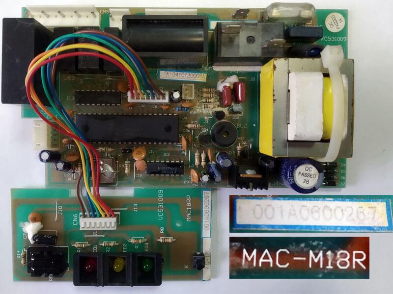 Плата управления кондиционером MAC-M18R