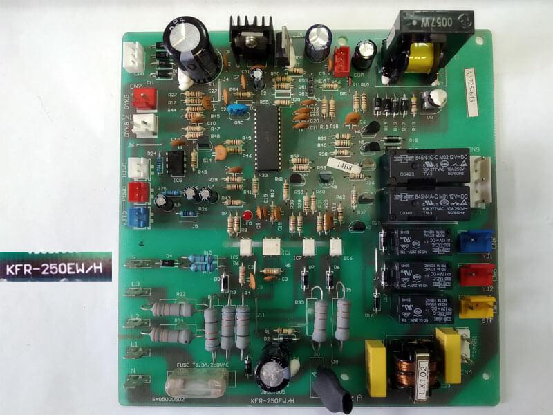 Плата управления кондиционером VB551005