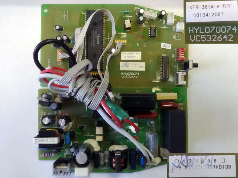 Плата управления кондиционером VC532642 HYL070074