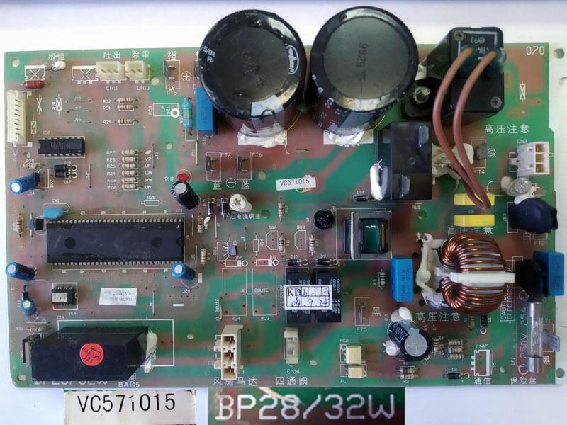 Плата управления кондиционером VC571015 BP28/32W