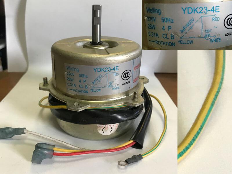 Двигатель (мотор) кондиционера YDK23-4E