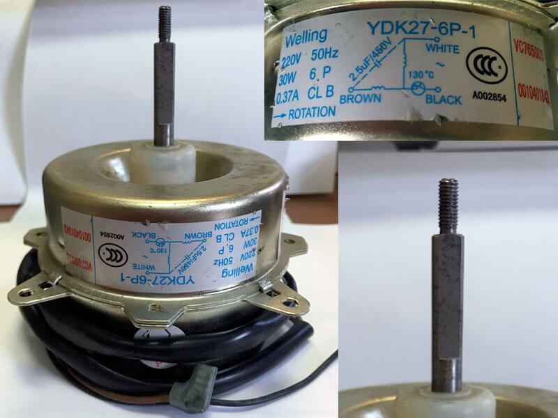 Двигатель (мотор) кондиционера YDK27-6P-1