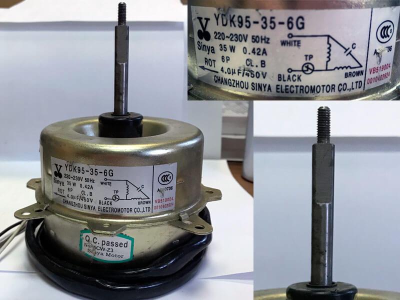 Двигатель (мотор) кондиционера YDK95-35-6G